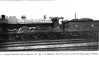 Caledonian Railway 49 and 903 Classes - Locomotive no. 49 in 1903
