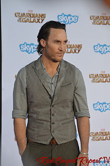 Callan Mulvey - Guardians of the Galaxy premiere - July 2014.jpg