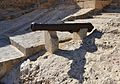 Canó davant del parc d'enginyers militars, castell de santa Bàrbara, Alacant.JPG