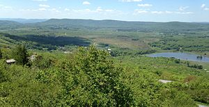 Canaan Valley - View of the southern end of Canaan Valley from atop Harmon Knob.