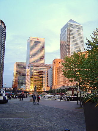 HSBC - HSBC headquarters at Canary Wharf, London