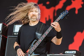 Cannibal Corpse - Image: Cannibal Corpse Rockharz 2018 10