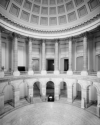 Cannon House Office Building - Image: Cannon House Office Building Rotunda