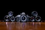 Canon New F-1 and Lenses.jpg