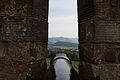 Canon in the battlements at Stirling castle (15064339227).jpg