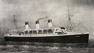 SS Cap Arcona - Image: Cap Arcona 1