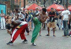 Roda de Capoeira en Amsterdam