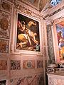 Cappella cerasi, caravggio, crocifissione di pietro, 1601.JPG