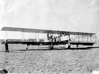Trimotor - WW1 Caproni Ca.3 trimotor