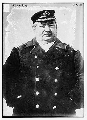 SS Arabic (1902) - Captain William Finch