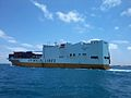 Car carrier GRANDE CONGO naviguant en mer de Csablanca.jpg