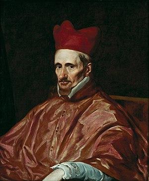 Gaspar de Borja y Velasco - Portrait by Diego Velázquez, ca. 1643