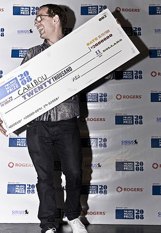 2008 Polaris Music Prize - Caribou at the 2008 Polaris Music Prize gala
