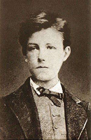 1871 in poetry - Arthur Rimbaud photographed by Étienne Carjat, October 1871.