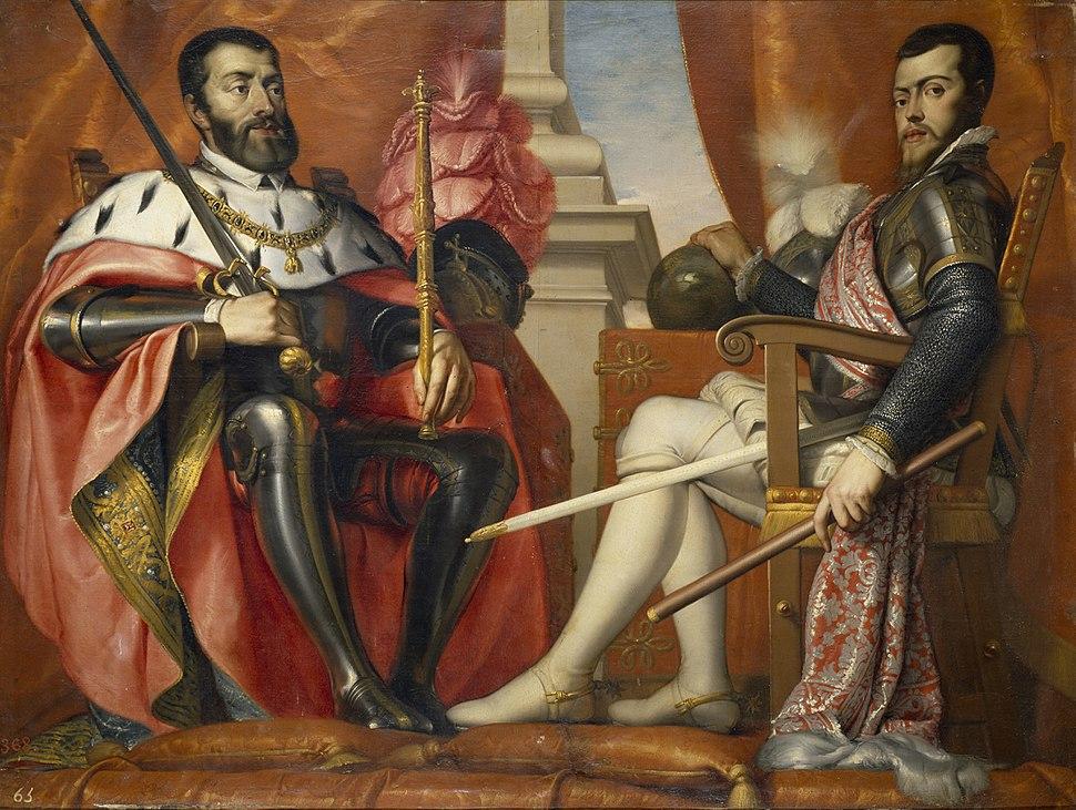 Carlos I y Felipe II