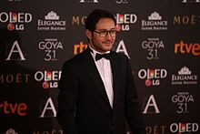 Description de l'image Carlos Santos at Premios Goya 2017.jpg.