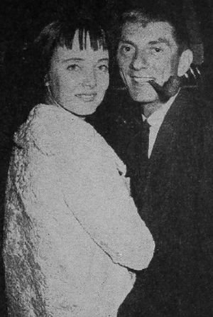 Carolyn Jones - With Aaron Spelling (1960)
