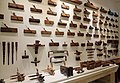 Carpentry tools Cathedral Museum Mdina Malta 2014.jpg