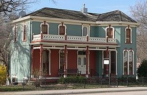 National Register of Historic Places listings in Nemaha County, Nebraska - Image: Carson house (Brownville, Nebraska) from NE