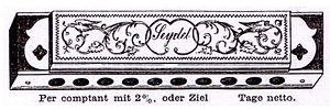 Mouth organ - Image: Cass muha 1880