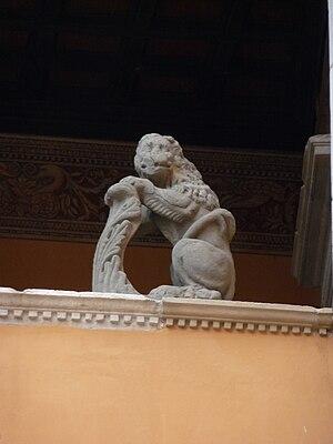 Gradara Castle - Image: Castello Gradara corte giu 09 f 08