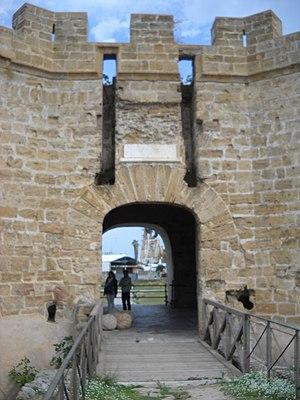 Castello a Mare - Image: Castello a mare di Palermo ingresso principale 06 nov 2016