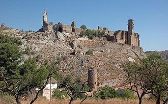Castelló de Farfanya - The remains of the castle.