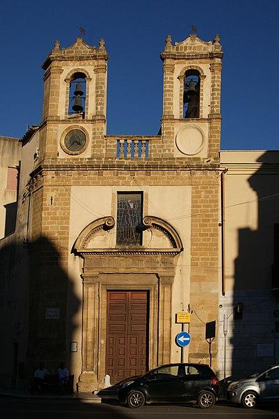 File castelvetrano chiesa di sant antonio abate jpg for Arredo bimbo sant antonio abate