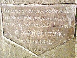 Giovanni Battista Castiglione Italian Renaissance humanist