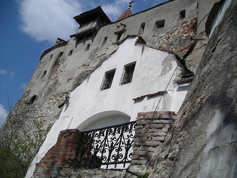 Romenia no inverno: Castelo de Bran.