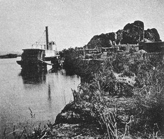 Castle Dome Mountains - Castle Dome Landing, 1877