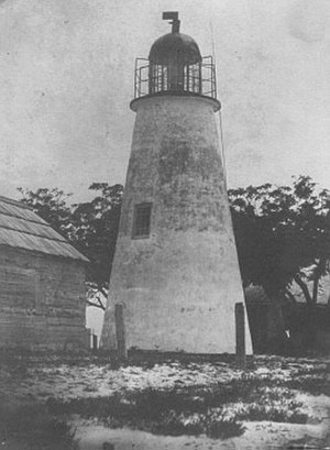 Cat Island Light - The 1831 tower (USCG)