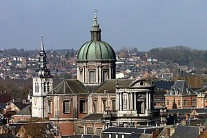 Roman Catholic Diocese of Namur - St Aubin's Cathedral in Namur, Belgium