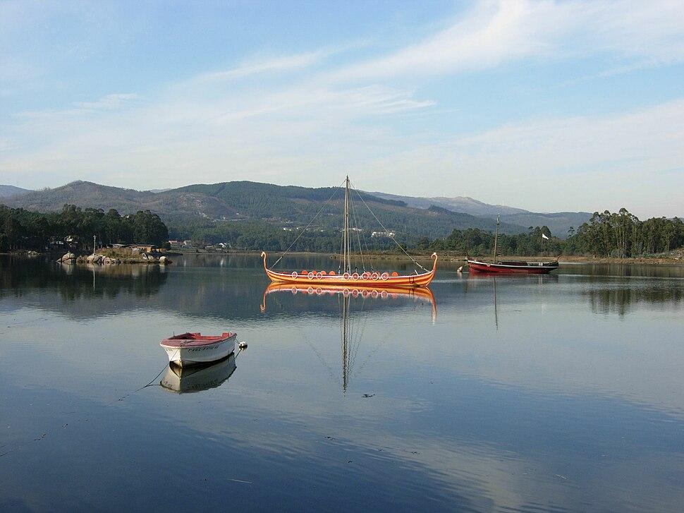Catoira barco vikingo