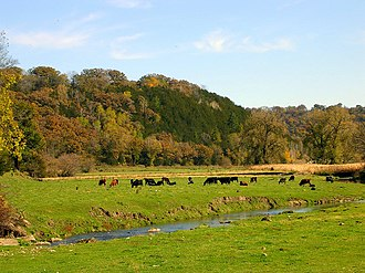 Fillmore County, Minnesota - County landscape in autumn