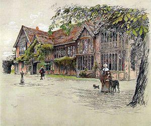 Ockwells - Ockwells Manor by Cecil Aldin