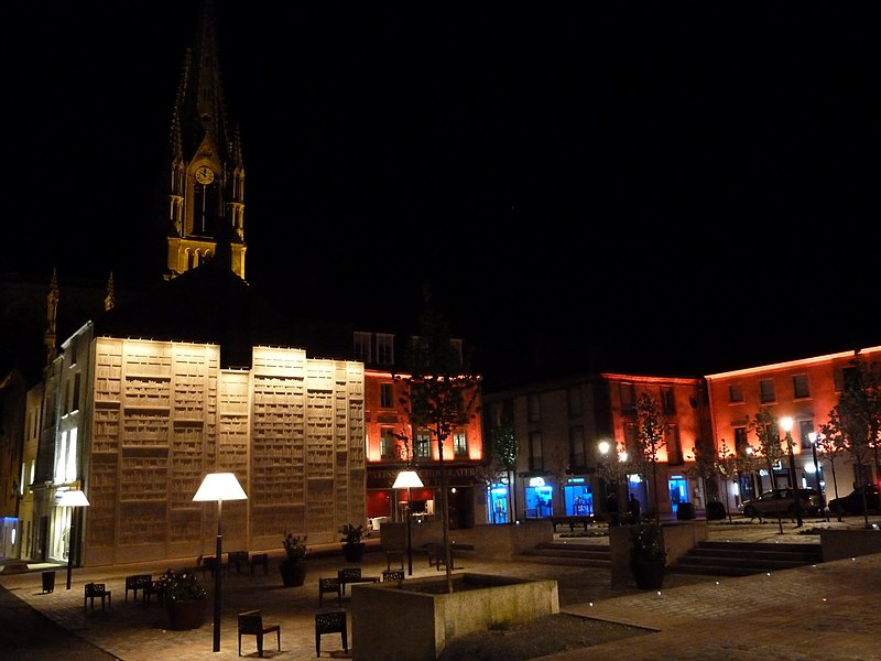 Cholet - Réaménagement du centre ville