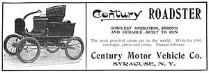 century motor vehicle company wikipedia