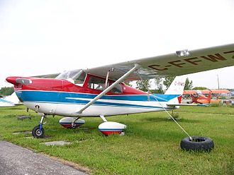 Cessna 175 Skylark - Cessna 175A Skylark at Rockcliffe Airport, Ontario, 2004