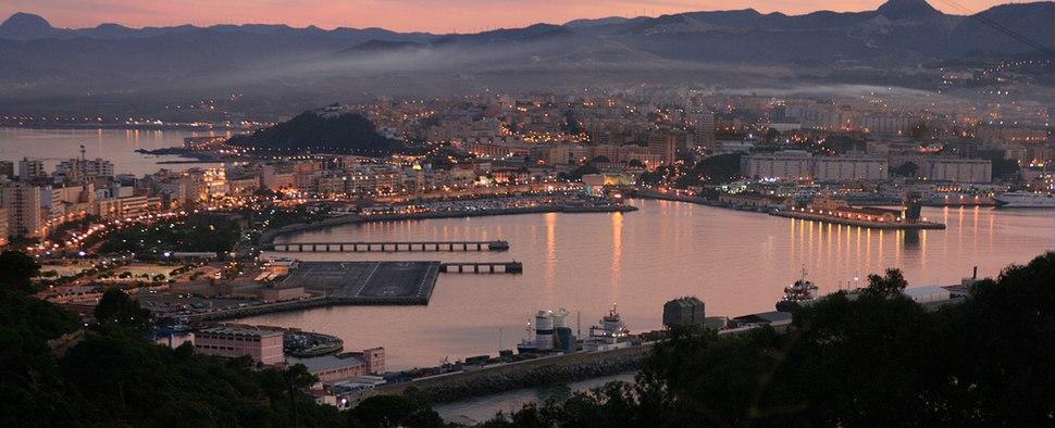Ceuta desde el Monte Hacho, 2008