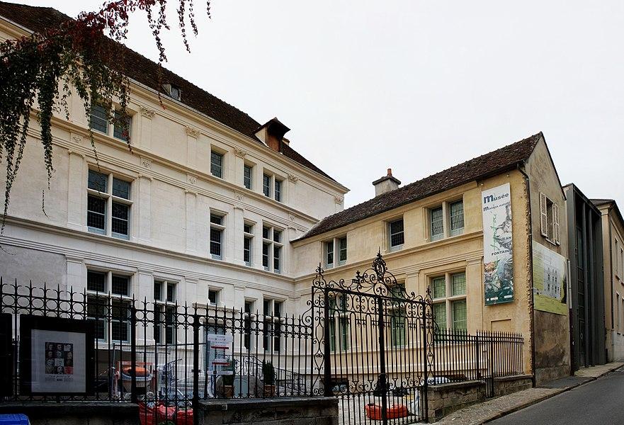 Jean de la Fontaine museum in Château-Thierry, France