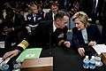 Chairman of the Joint Chiefs of Staff Navy Adm. Mike Mullen and U.S. Secretary of State Hillary Rodham Clinton testify before the U.S. Senate Committee on Foreign Relations 091203-N-TT977-076.jpg