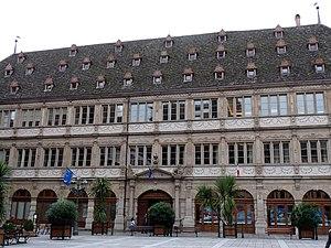 Neubau (Strasbourg) - Image: Chambre de commerce et d'industrie de Strasbourg