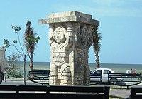 Champoton Indigenes Denkmal.JPG