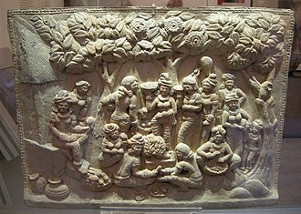 History of Bengal - A sculpture of ancient Bengal found in Chandraketugarh