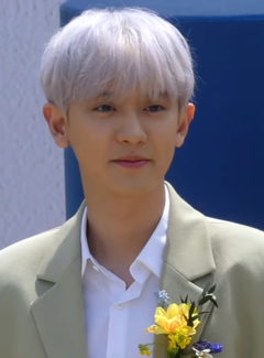 Chanyeol at Acqua Di Parma's Cipresso Di Toscana Launching Party on May 9, 2019 (1).png