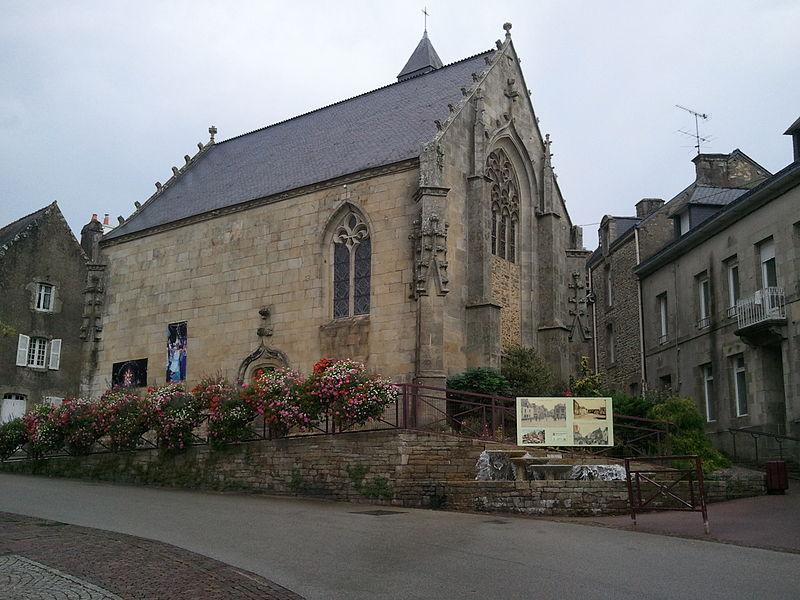 Chapelle de la Congrégation (chapelle Notre-Dame-du-Plasquer), Place du Champ-de-Foire (Inscrit, 1930)
