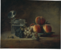 Chardin - Still Life with Crystal Vessel and Fruit, c. 1759.png