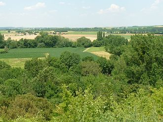 Balzac, Charente - View of Font-Saint-Martin in the Charente Valley