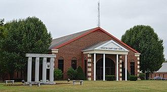 Chariton County, Missouri - Image: Chariton County Missouri courthouse 20151004 127